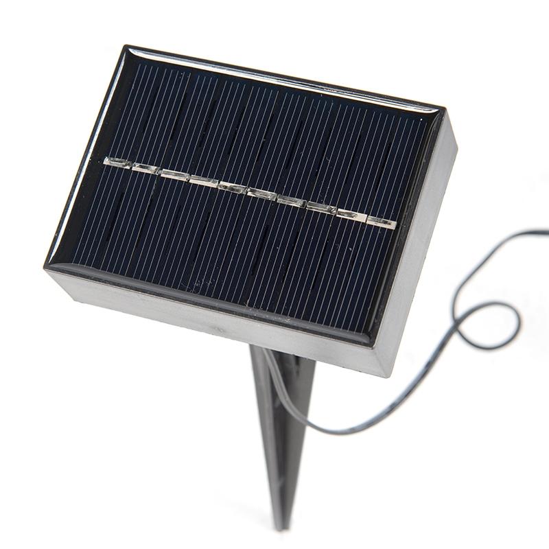 3 focos de estaca LED solares IP44 - ROX