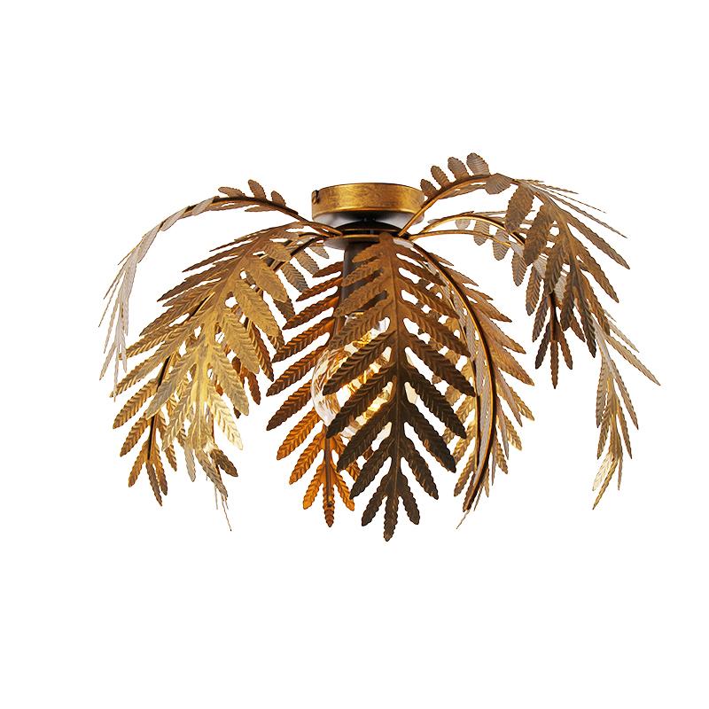 Plafón vintage dorado 45cm - BOTANICA