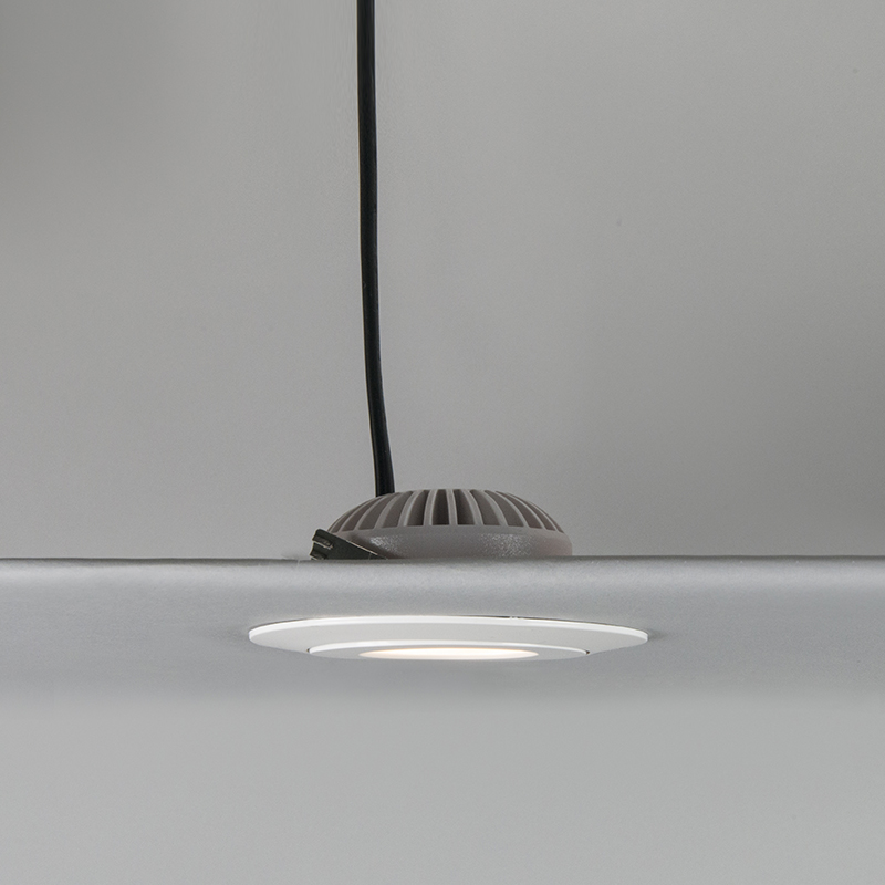 Set of 3 recessed spotlights white incl. LED IP44 - Relax LED