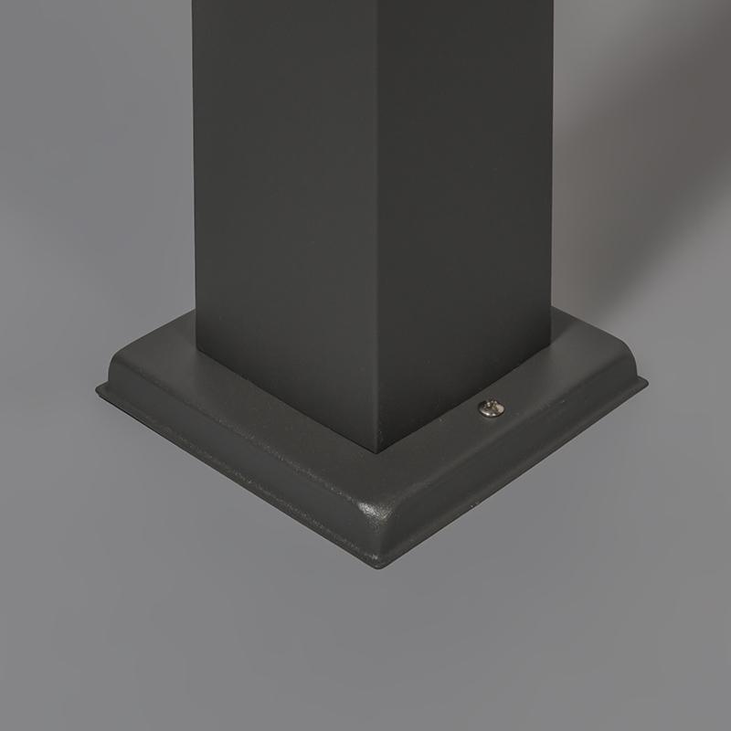 Baliza moderna gris oscuro 80cm IP44 - MALIOS