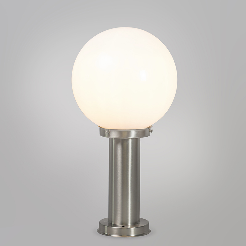 Outdoor lamp steel stainless steel 50 cm - Sfera with ground pin and cable sleeve