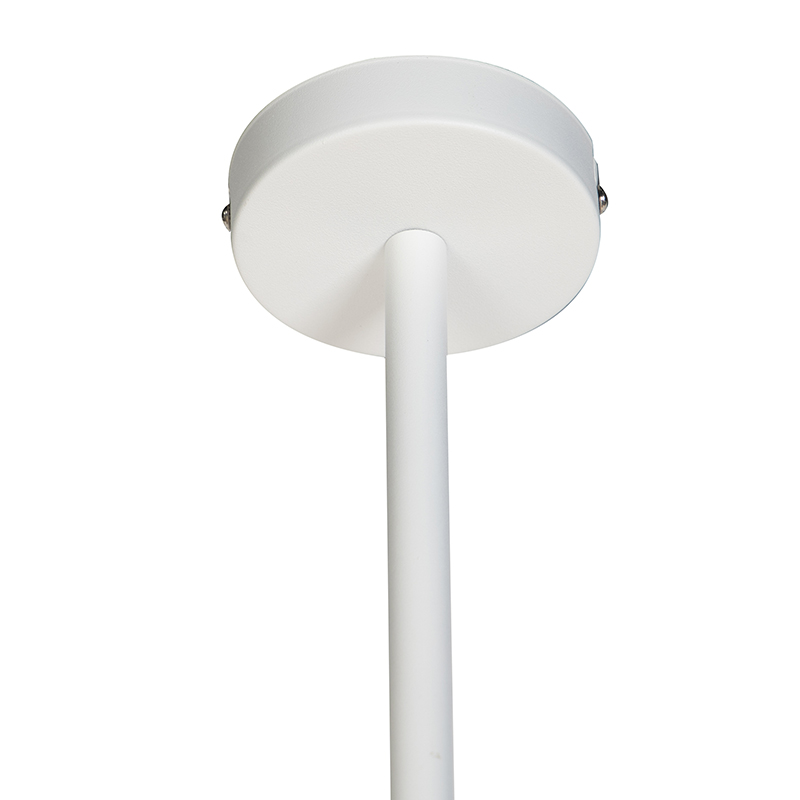 Modern Adjustable Pendant Lamp 6 White - Lofty