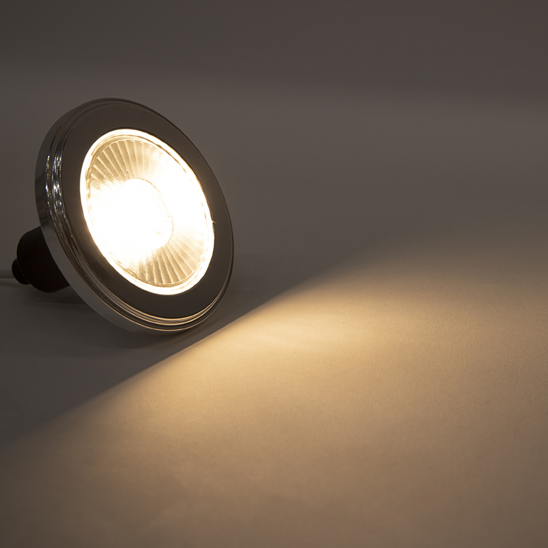 Bombilla LED regulable 3 pasos GU10 AR111 5.5W 2700K