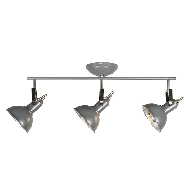 Industrial spot anthracite swivel and tilt - Tommy 3