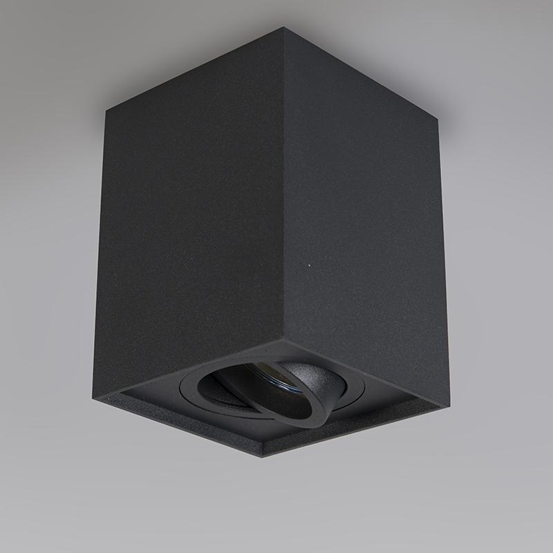 Spot noir réglable - Quadro 1 up