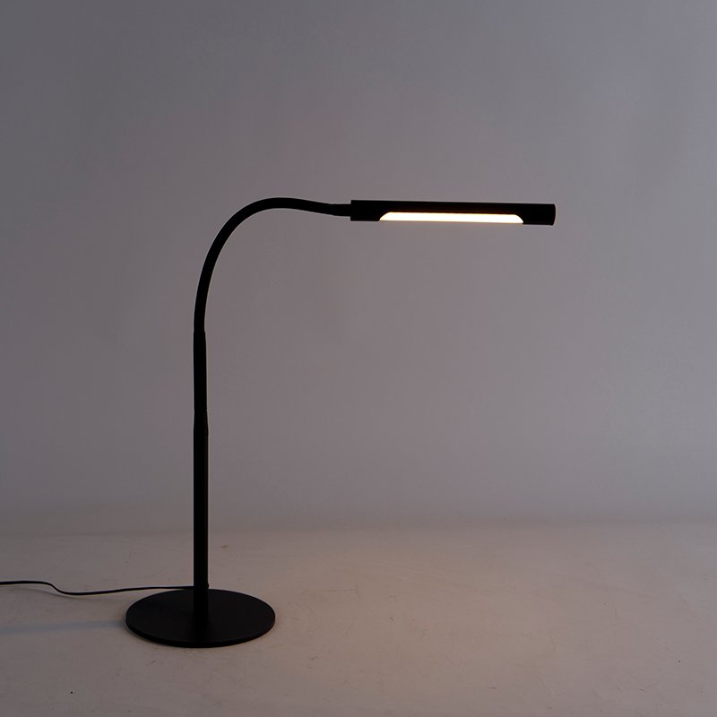 Design table lamp black incl. LED with touch dimmer - Palka