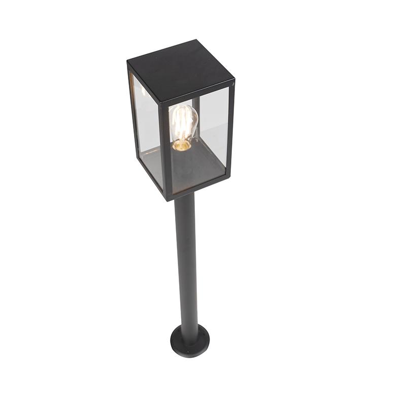 Modern Outdoor Pole 100.5cm Black IP44 - Rotterdam