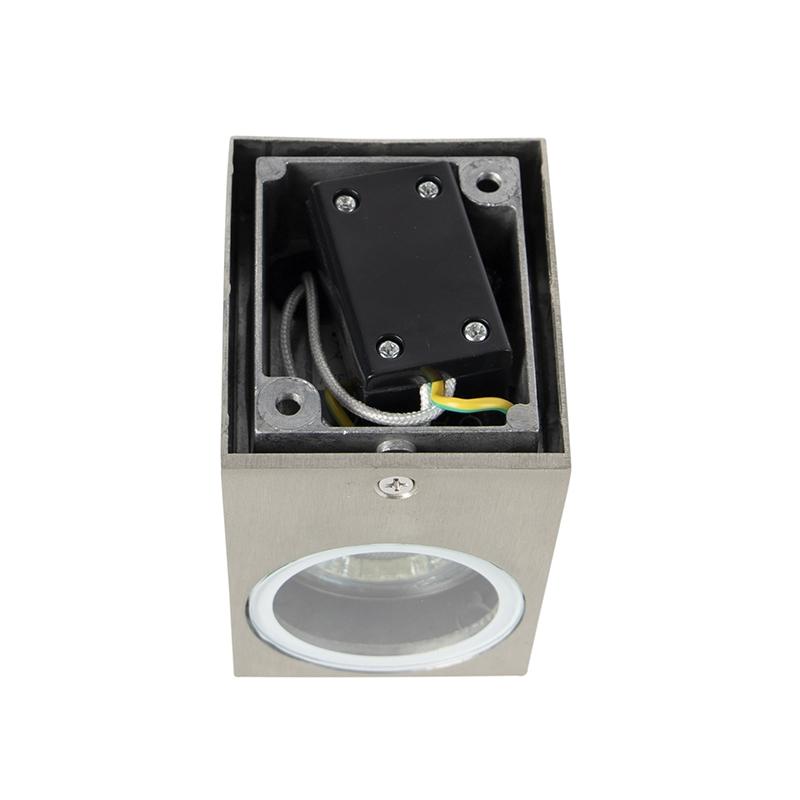 Aplique moderno acero IP44 - BALENO I
