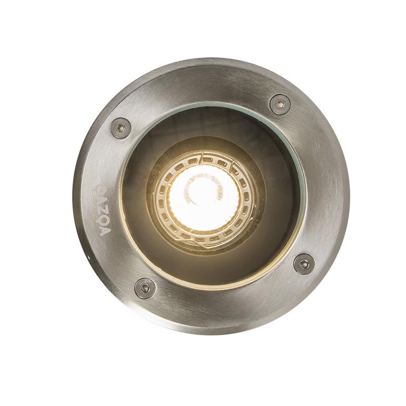 Foco de suelo moderno acero inoxidable IP65 - DELUX