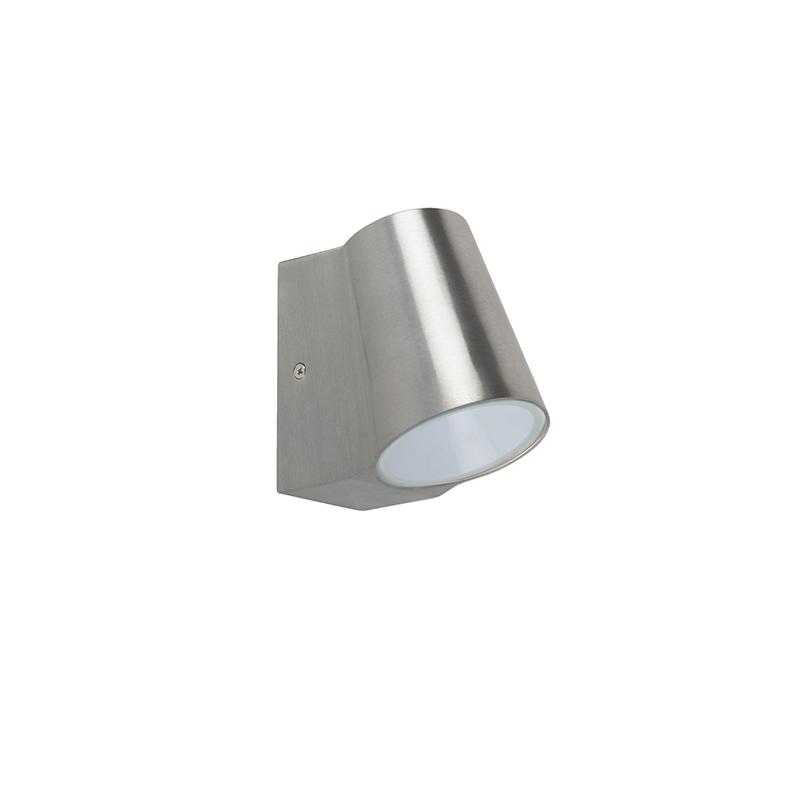 Outdoor lamp aluminum with light-dark sensor incl. LED - Uma