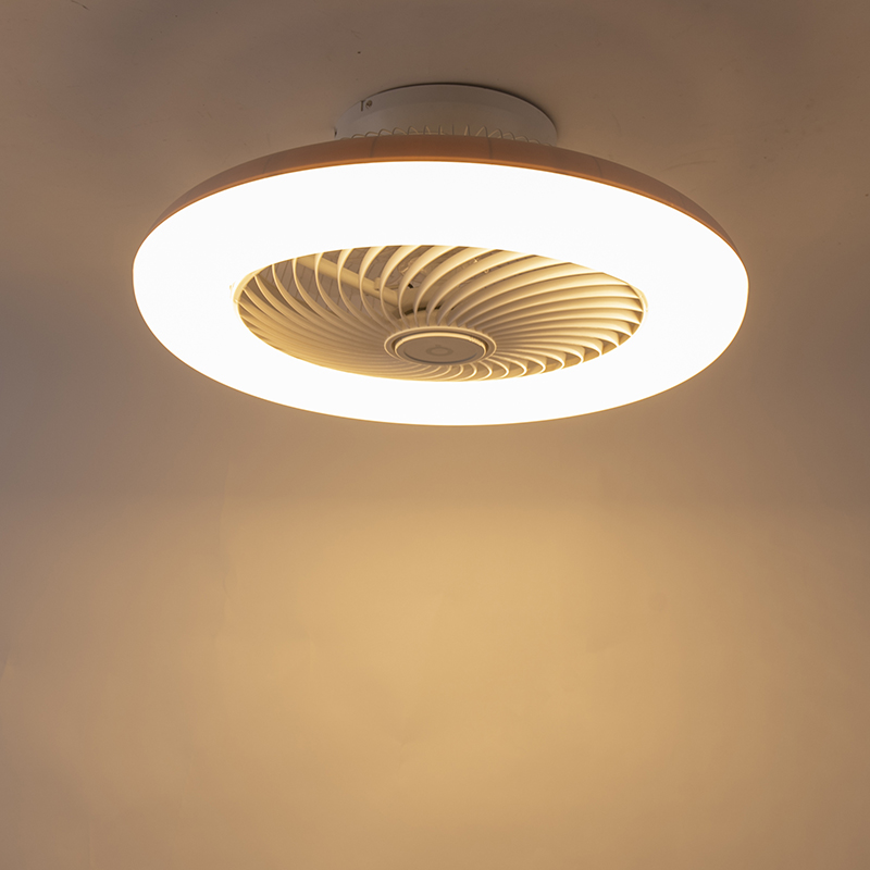 Design ceiling fan white incl. LED dimmable - Clima