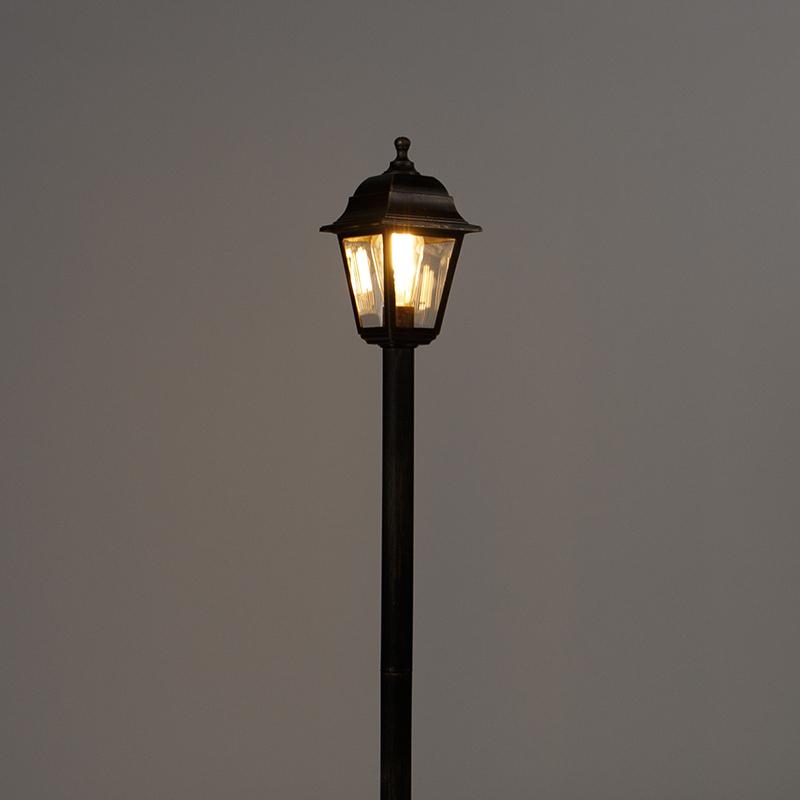 Classic lantern antique gold 122 cm IP44 - Capital