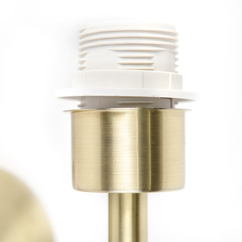 Applique moderne 1 doré avec interrupteur - Combi