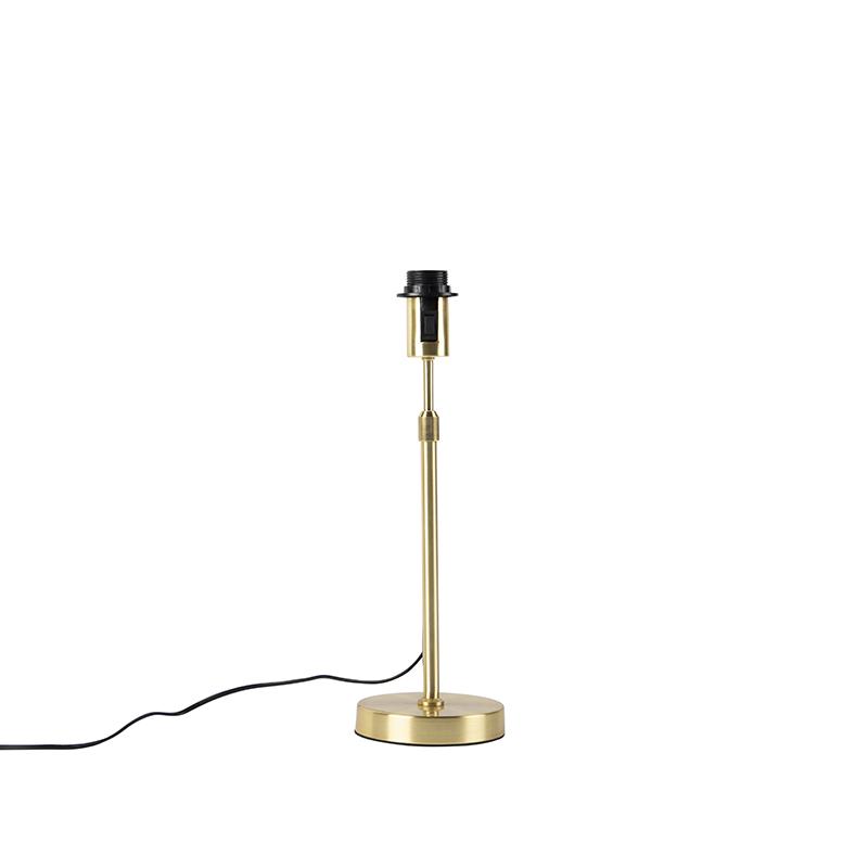 Lampe de table or / laiton réglable - Parte