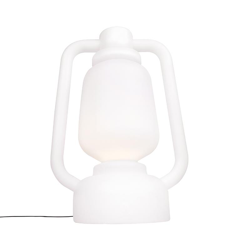 Floor Lamp White 110cm IP44 - Storm Extra Large