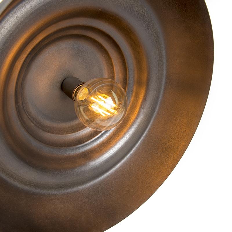 Lámpara colgante TRINA óxido