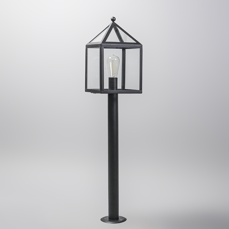 Outdoor Pole Black 100cm - Amsterdam