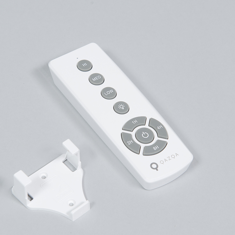 Ceiling fan white incl. LED with remote control - Sirocco 50