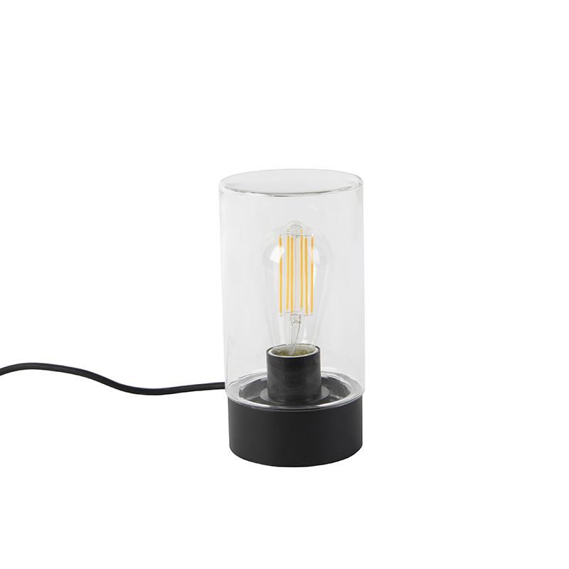Modern outdoor table lamp black IP44 - Jarra