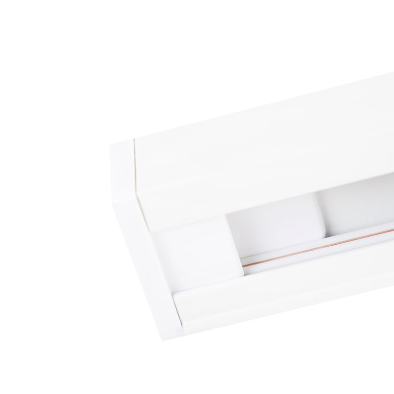 Modern Track Light 1-Phase with 3 Spotlights White - Jeany