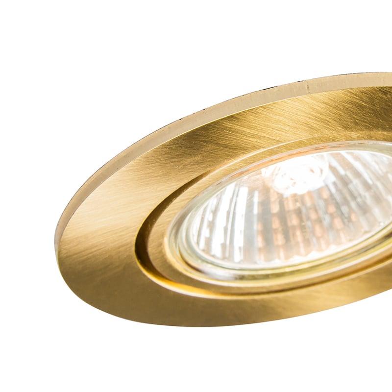 Spot inclinable doré intégré - Cisco