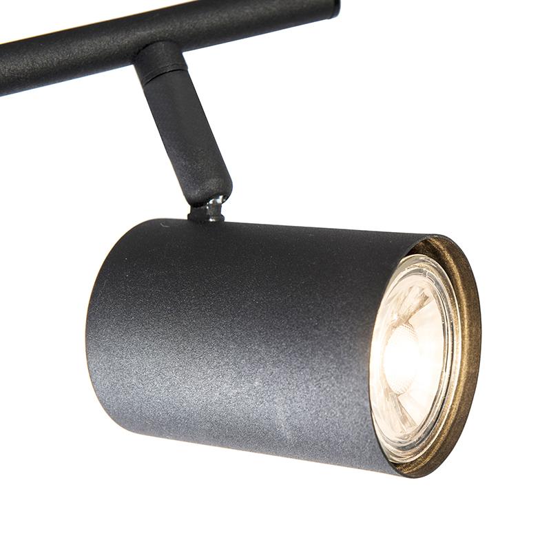 Industrial Adjustable Spotlight Black - Jeana 2