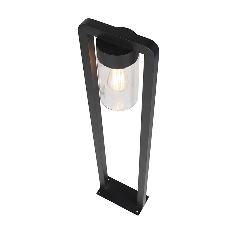 Modern standing outdoor lamp black IP44 - Jarra Balanco