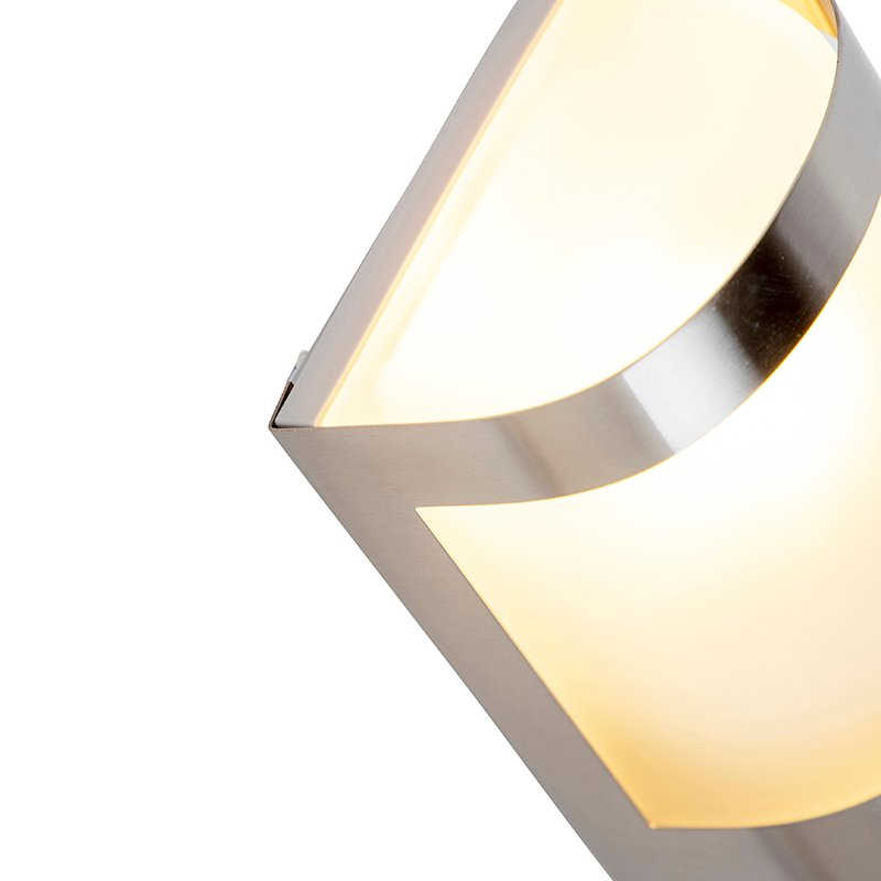 Outdoor wall light stainless steel light-dark sensor - Mira