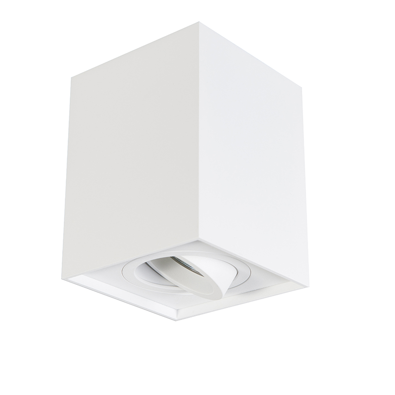 Foco blanco bombilla-Wifi GU10 ajustable - QUADRO 1 Up