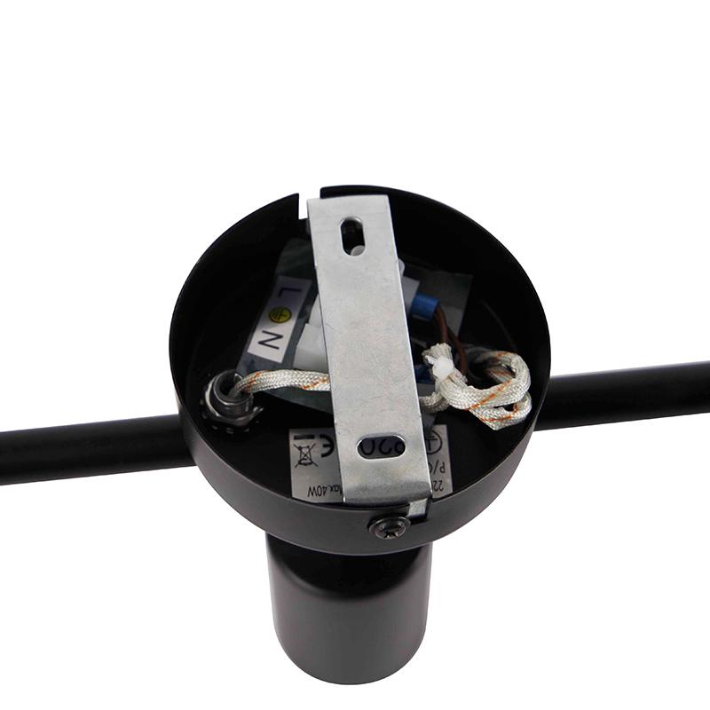 Modern spot black 3-light adjustable - Facil