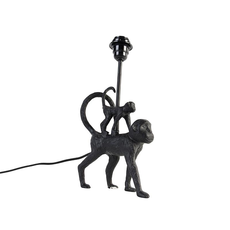 Vintage table lamp black - Monkey Unge