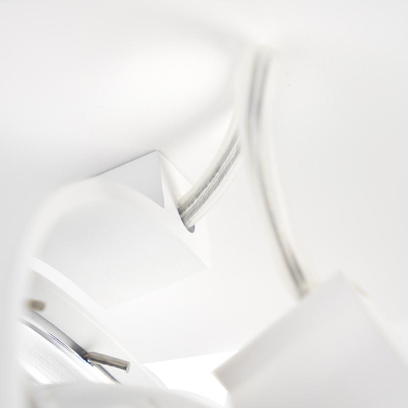 Spot design réglable 1 lumière blanc- Go G9