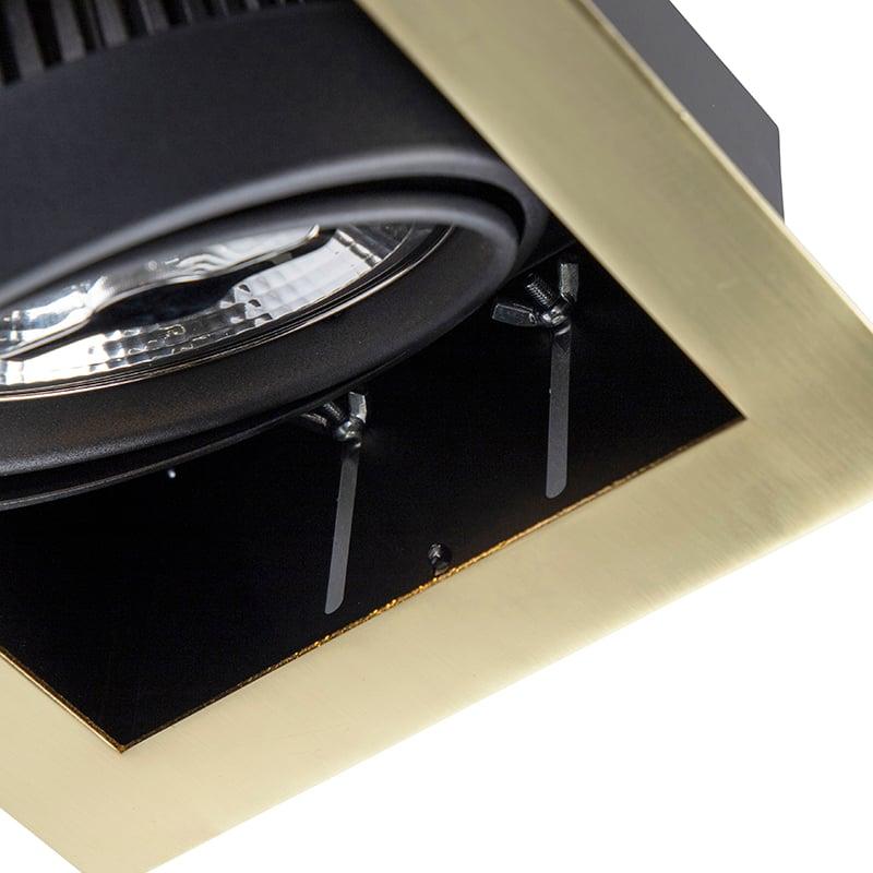 Recessed Spotlight Brass G53 AR111 - Oneon 111-2