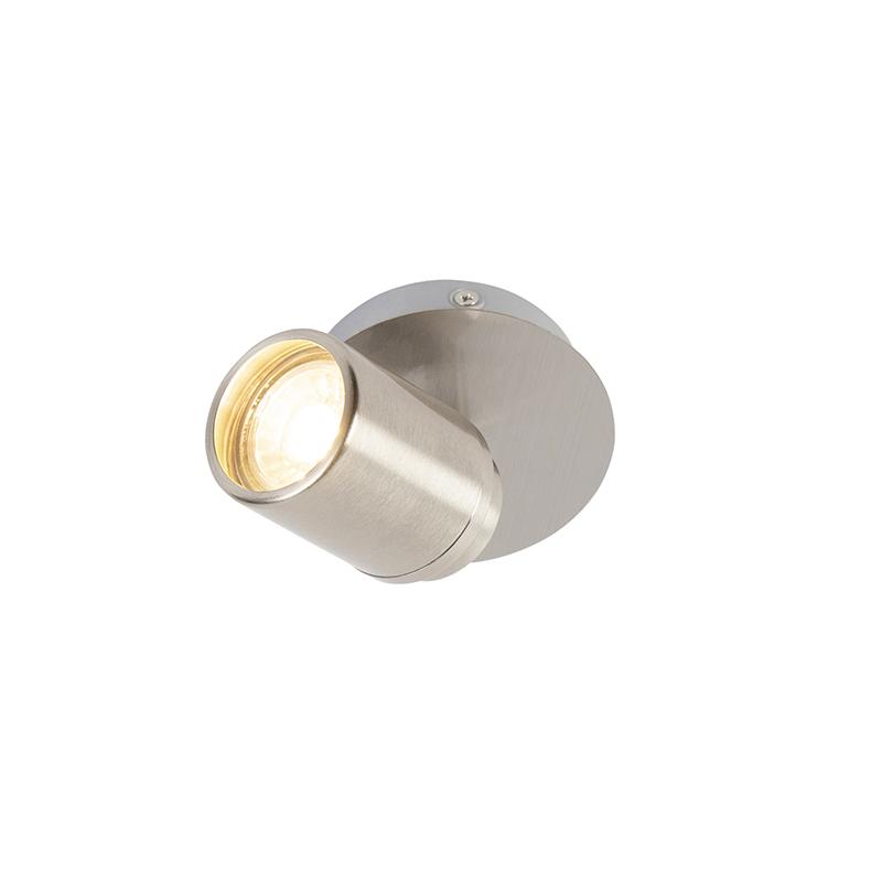 Modern bathroom spot steel IP44 - Ducha