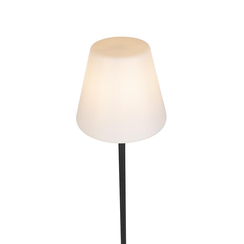 Modern Outdoor Floor Lamp Black - Virginia