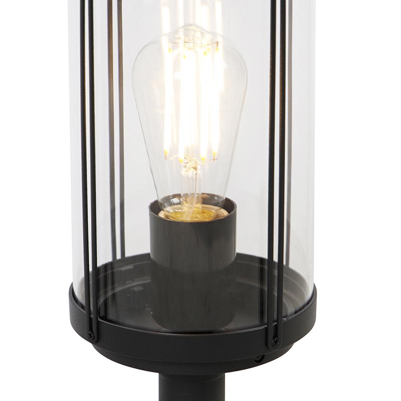 Design outdoor lamp black 40 cm IP44 - Schiedam