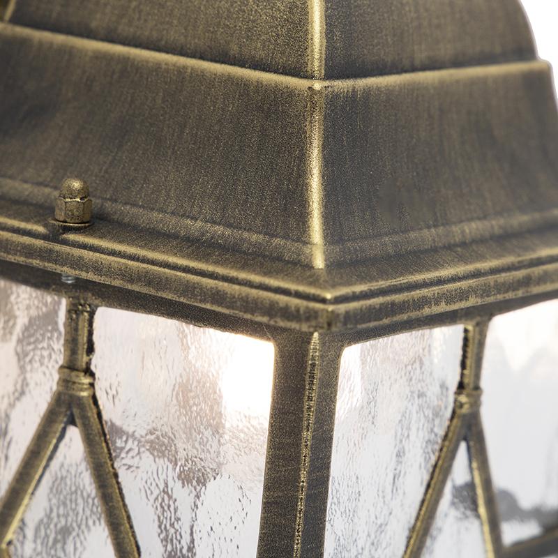 Aplique romántico bronce IP23 - LONDON