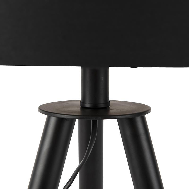 Set trípode mesa y de pie pantallas negras - PIP