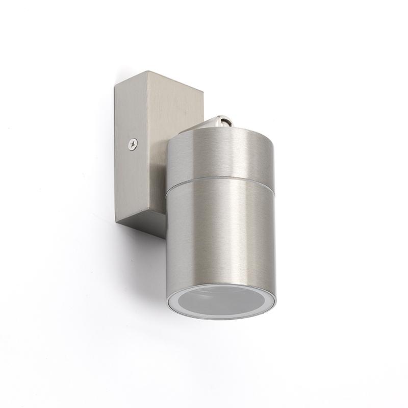 Applique murale extérieure en acier IP44 rotative et inclinable - Solo