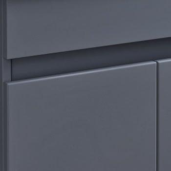 Artis grey gloss door handle