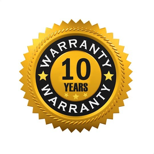 Aurora 10 Year Guarantee