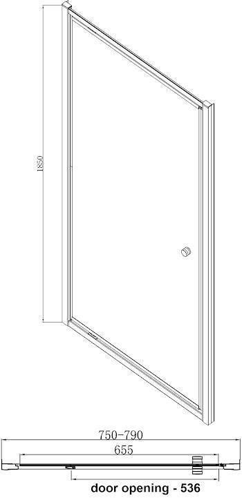 hydrolux-800mm-pivot-shower-door-4mm-glass