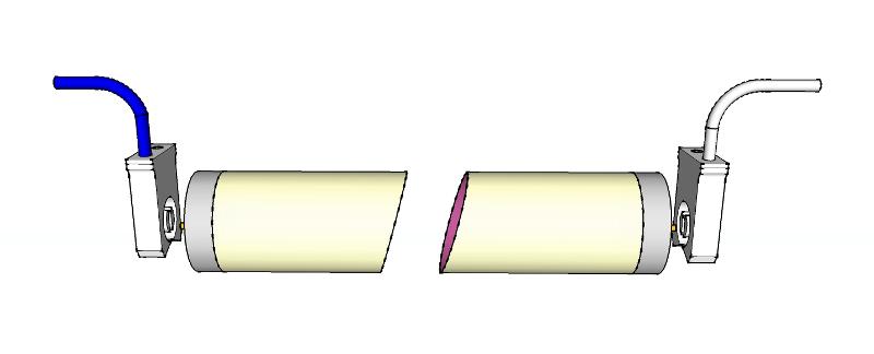 Tubo T8 G13 conexion dos lados