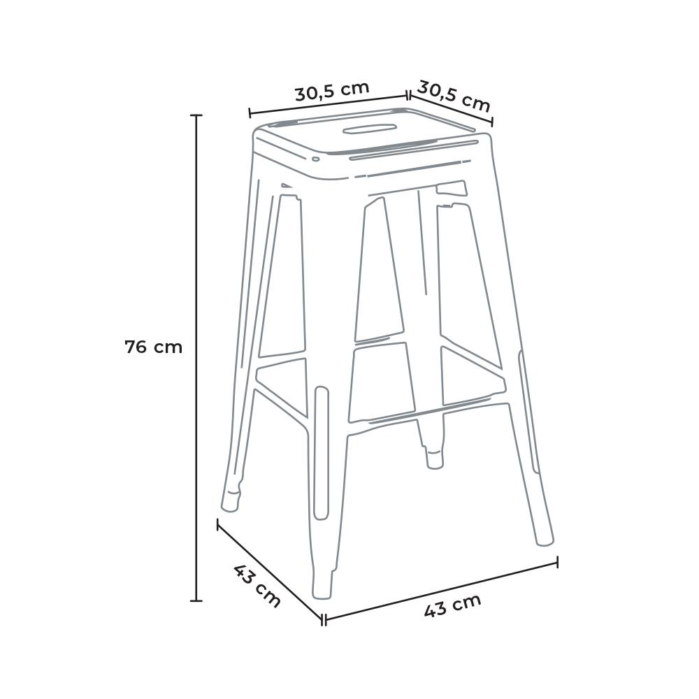 stool size