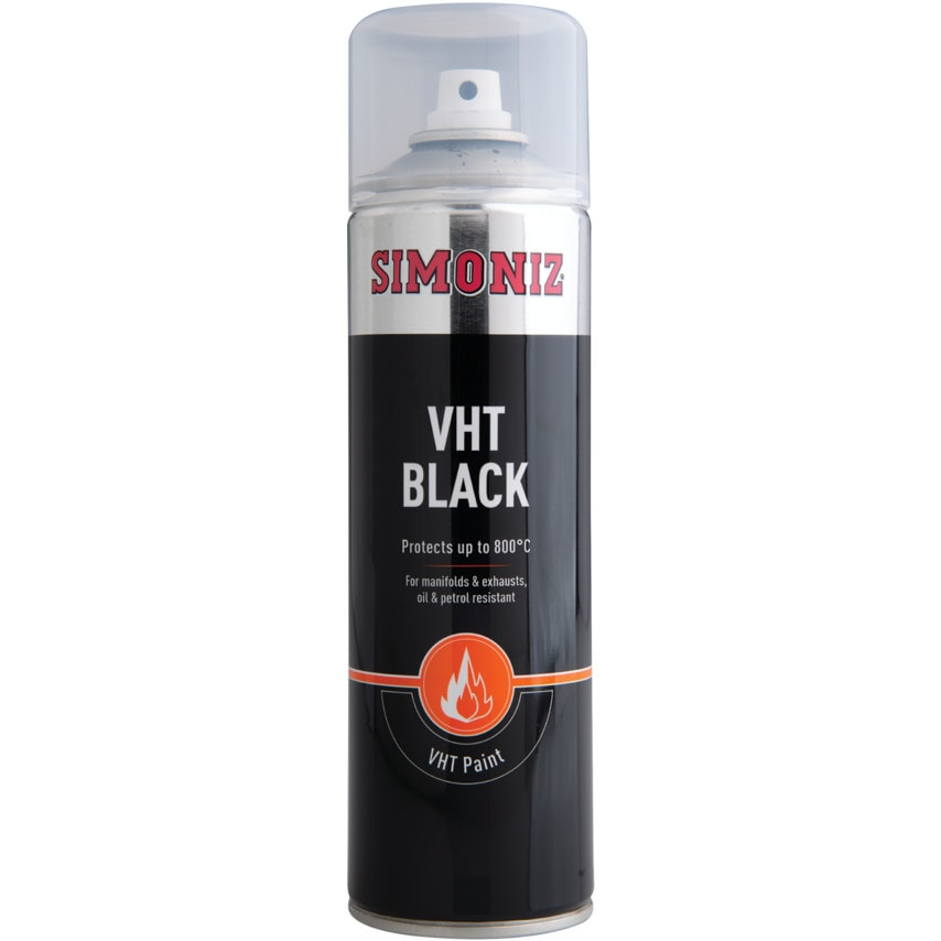 Simoniz SIMVHT20D High Temperature Black Paint 500ML