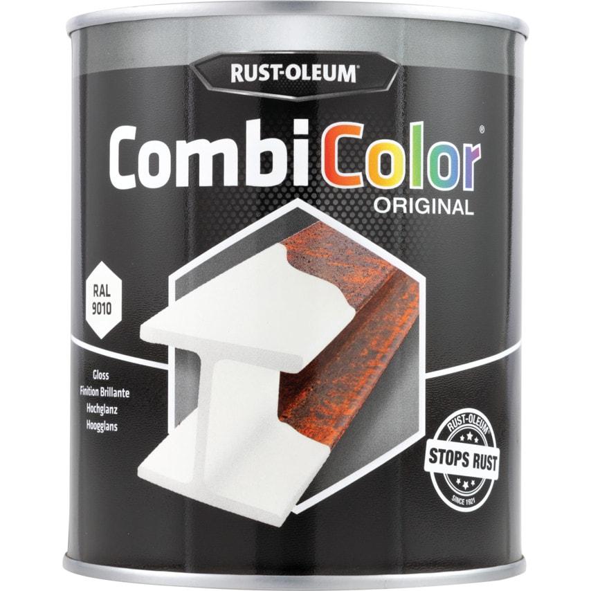 Rust-oleum 7392 Combicolor White Metal Paint - 750ML