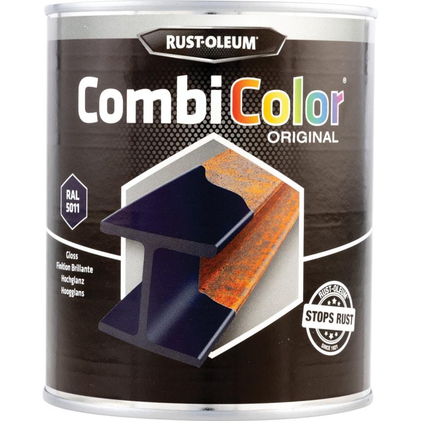 Rust-oleum 7329 Combicolor Steel Blue Metal Paint - 750ML