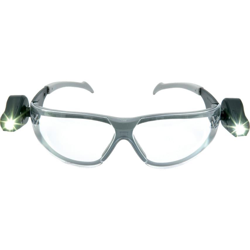 3M Peltor LED Light Clear Lens Vision Spectacles
