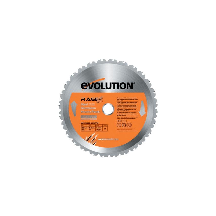 Evolution Power Tools RAGE3-S 210MM Multi Blade