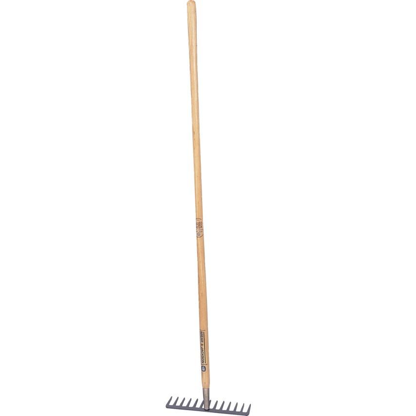 3840EY Garden Rake 12 Tooth